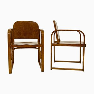 Model A 745 F Armchairs from Tatra, 1930s, Set of 2