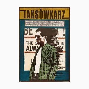 Taxi Driver Poster by Andrzej Klimowski, 1978