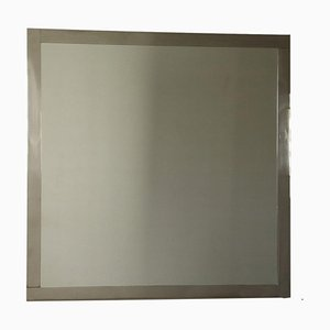 Crystal Chromed Metal Mirror by Luigi Caccia Dominioni for Azucena, 1960s