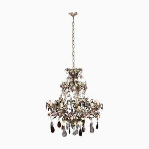 Iron and Shear Plate Chandelier