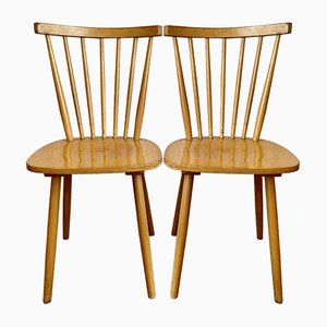 Original Frankfurt Wooden Chairs, 1960s