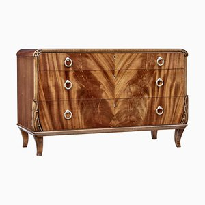 Mid-Century Mahogony Chest of Drawers by Bodafors