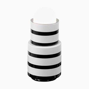 Keramik und Marmor Tischlampe von Eric Willemart
