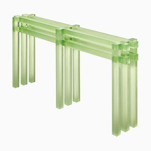Consola verde de Laurids Gallée