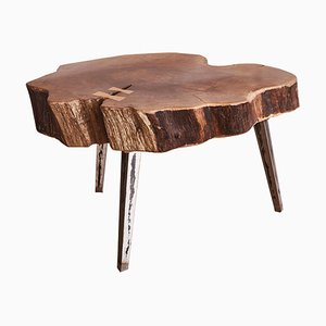 Walnut Arte Coffee Table by Jean-Baptiste Van Den Heede