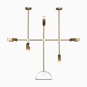 Lampe à Suspension Sphère en Cercle et Rond en Cercle
