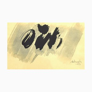 Gerhard Schneider, Komposition, Aquarell, 1963
