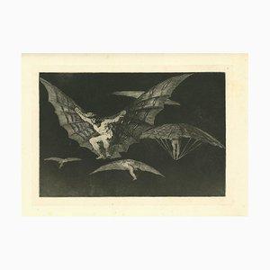 Francisco Goya, Fly Mode, 1875, Original Etching