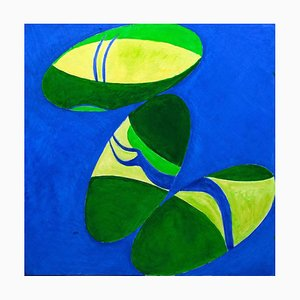 Giorgio Lo Fermo, Abstract Butterflies, 2020, Original Oil on Canvas