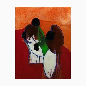 Giorgio Lo Fermo, Homage to Arshile Gorky, 2020, Original Oil on Canvas