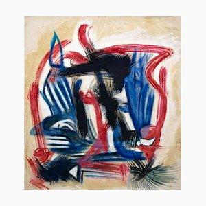 Giorgio Lo Fermo, Abstrakte Komposition, 2020, Original Öl auf Leinwand