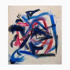 Giorgio Lo Fermo, Abstract Composition II, Oil on Canvas, 2020