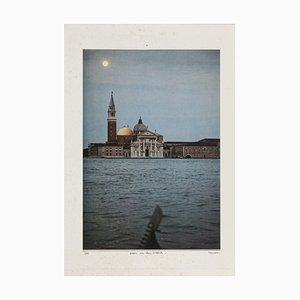 Sergio Barletta, Moon on the Casbah, 1983, Original Collage
