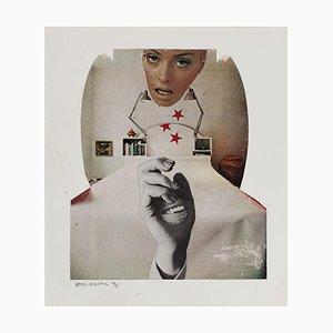 Sergio Barletta, 1975, Original Collage