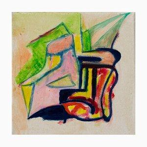 Giorgio Lo Fermo, Acid Composition, Oil Painting, 2020