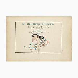 George Barbier, Frontispiece for Happiness Day, Stencil, 1929