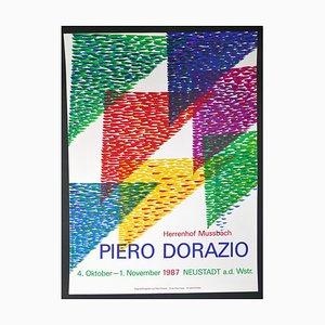 Piero Dorazio, Poster for P. Dorazio's Exhibition in Herrenhof Musbach, Germany