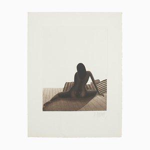 Nackte Frau, 20. Jahrhundert, Originale Radierung