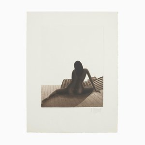 Nude Woman, 20th Century, Original Etching