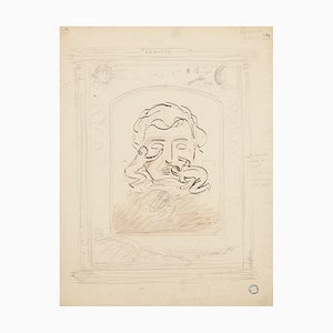 Ch. Moulin, PRICE, Eternity, 20th Century, Dessin Original