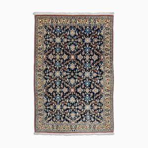 Dark Blue Floral Nain With Border