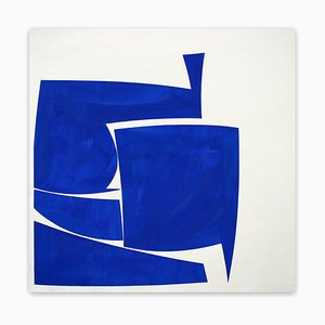 Covers 24 Blue A Summer (Abstract painting) 2016