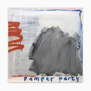 Pamper Party (Abstract painting) 2020
