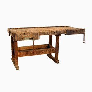 Workbench in Solid Oak, 1930s