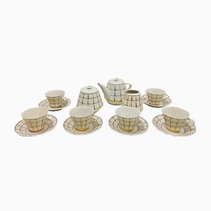 Mid-Century China Tea Set from Verbilky, Set of 15
