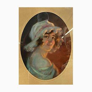 Pean René Louis, Art Nouveau Pastel, 1800s