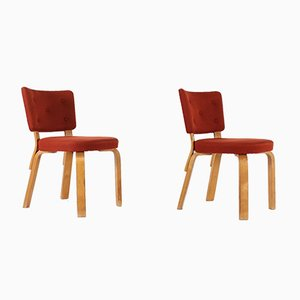 Model 62 Side Chairs by Alvar Aalto, 1940s, Set of 2
