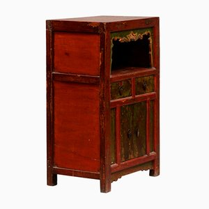 Antique Mongolian Display Cabinet