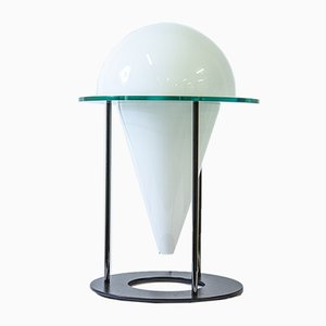 Vintage Table Lamp in the Style of Fontana Arte, 1980s