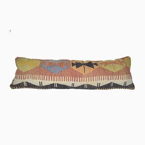 Turkish Extra Long Boho Woven Kilim Cushion Cover