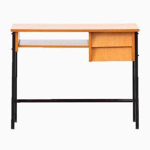 Vintage Schreibtisch mit Abgeschrägten Schubladen