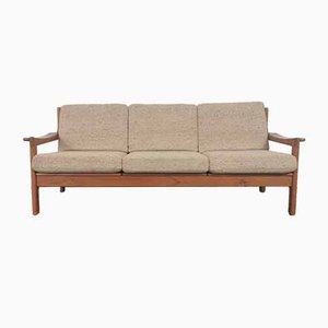 Teak 3-Seat Sofa from IMHA, 1960s