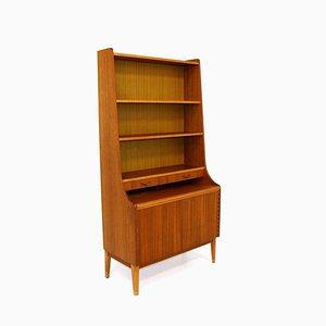 Swedish Teak and Beech Bookcase, 1960s