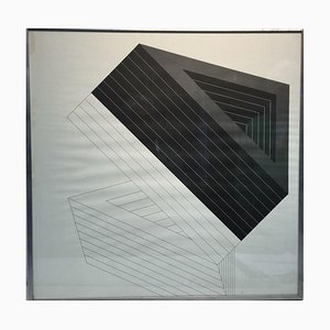 Hansjerg Maier-Aichen, 1940, Object Drawing, Serigraph
