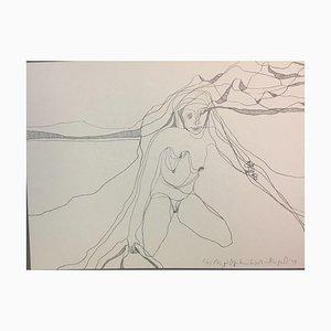 Figural Composition, 1978, Lithograph
