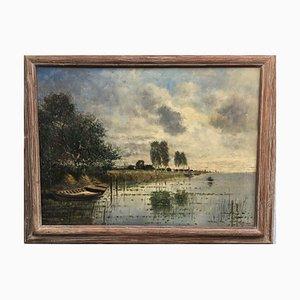 Schilmeier, Stanberger See, óleo sobre lienzo