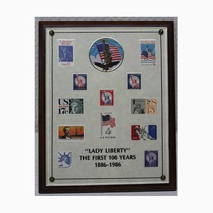 Lady Liberty The First 100 Years, Stamp Collection, 1886-1986