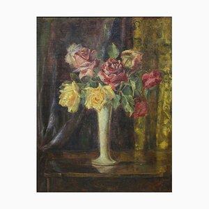 P. Füser, Blumenstrauß aus Rosen