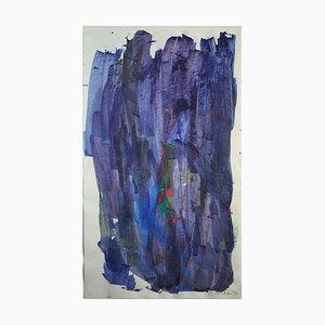 Max Reneman, Abstrait, 1997, Goache