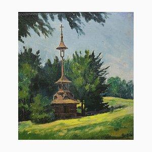 Galia, Kapelle Tower, óleo sobre lienzo