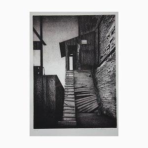 Freitag, Hausfriedensbruch, 1981, Radierung