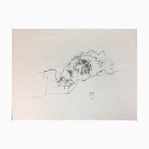 Horst Janssen, Gretz, 1971, Lithograph