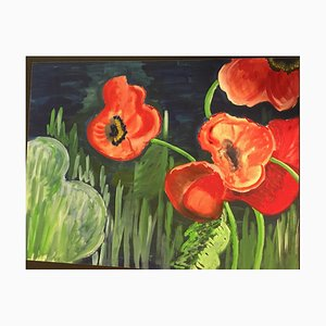 Coquelicots, Lithographie