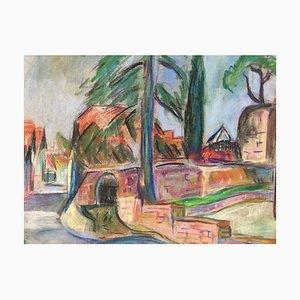 Heymo Bach, Krummelbach, 1994, Chalk