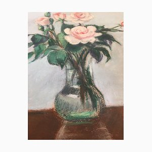 Petersen-Sterner, Bouquet of Roses, Pastel