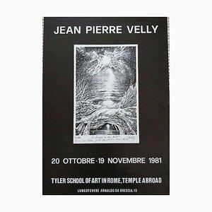 AC 11 Tyler School of Art in Rome Poster by Jean Pierre Velly, 1981